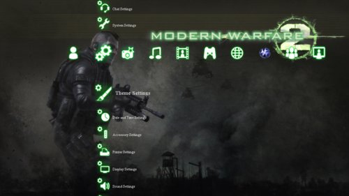Go Sign Icon Call of Duty MW2 Theme...
