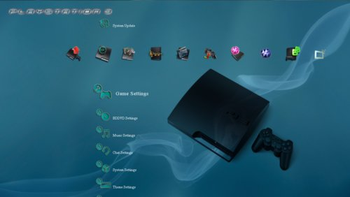 ps3 slim theme the ps3 index