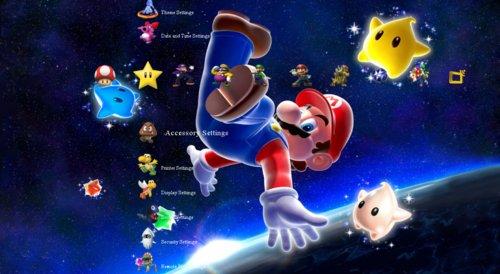 Super Mario Galaxy Theme - The PS3 Index